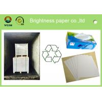 China Chemical-mechanical pulp recycled Duplex Board white back box packaging material wholesale