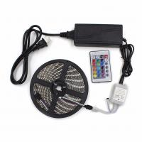 China 20m LED Strip 5050 RGB Waterproof IP65 LED tape with RF touch Remote controller + Power adapter + Amplifier Kit wholesale