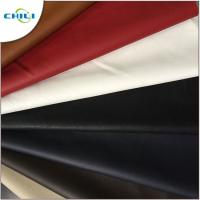 China Synthetic Faux Leather Upholstery Fabric Embossed Surface Treatment Durable wholesale