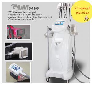 China Liposuction Lipo Laser Slimming Machine Velashape With Mechanical Rollers on sale