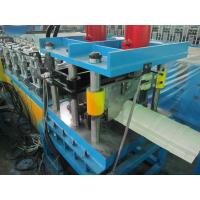 China High Efficiency Ridge Cap Roll Forming Machine 20Mpa 0.05mm Cr - Plating wholesale