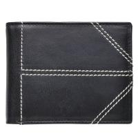 China Cowhide Genuine Leather Wallet Automatic Released Buckles Custom Designs wholesale