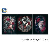 China Amazing Vampire 3d Flipped Pictures , 3D Lenticular Picture For Living Room Decor wholesale