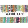 China Adhesive Scotch Tape Label Waterproof Masking Printed Washi Paper wholesale