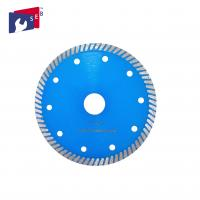 China Blue Color Small Circular Saw Blades Turbo Style 5/8'' 7/8'' For Household Cutting wholesale