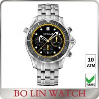 Buy cheap Sub Small Dial Stainless Steel Sports Watch Japanese Movt Mens Stainless Steel from wholesalers