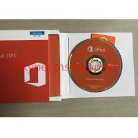 Genuine DVD Box Office 2016 Professional Retail For Windows PC Product Key Card