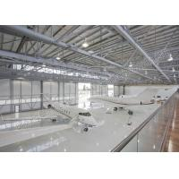 China Stacbed Steel Airplane Hangars Floding Hangar Door For Aircraft Hangar wholesale