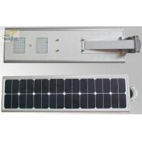 China 12V 40W Outdoor LED Solar Light High Capacity EMC LVD Approved Built - in Lithium Battery wholesale