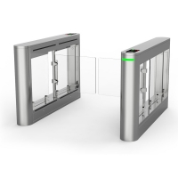 China Dc Blushless Motor High End Speed Swing Turnstile With High Door wholesale
