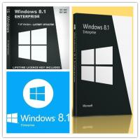China 100% Original Win 8.1 Enterprise Upgrade License For 1 PC Genuine Software wholesale