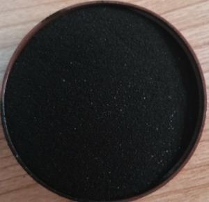 China Black Natural Seaweed Organic Fertilizer With 22% Alginic Acid And 10% K wholesale