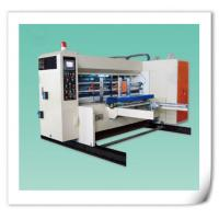 China Automatic water ink lead edge feeding printing slotting die-cutting stacking machine wholesale