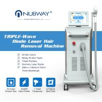 China 2018 New products high power 755nm 808nm 1064nm triple wavelength diode laser hair removal machine wholesale
