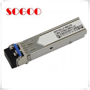 China CISCO 10GBASE-LR Fiber Optic SFP Module / Compatible Optical Module SFP-10G-LR-S wholesale