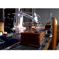 China High Strength Automatic Stacking Machine , Fast Packing Robotic Bag Palletizer wholesale