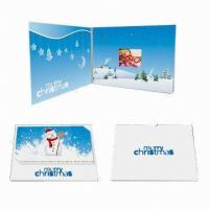 China Customized Video Wedding Invitations , Custom Video Greeting Cards wholesale