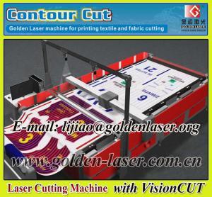 China VisionCUT Laser Printed Sign Fabric Cutting Machine wholesale