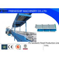 Buy cheap Continuously Automatic PU Sandwich Panel Production Line Two Tanks from wholesalers