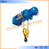 Quality 50HZ 20Ton Electric Wire Rope Hoist Lifting Equipment Remote Control for sale