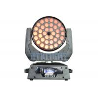 36*10W RGBW 4 In1 LED Wash Moving Head Zoom Light With Electronic Focusing