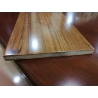 China Fast Installation Rectangle Fiberboard Flooring With Glabrous And Smooth Surface wholesale
