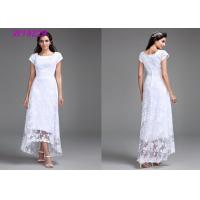 China Polyester Slim Traditional Wedding Gowns / Brand Design Spring Wedding Dresses wholesale
