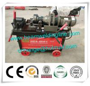 China Steel Bar Threading Machine , Steel Straight Thread Screw Rolling Machine wholesale