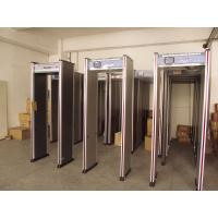 China Court / Exhibition Use Walk Through Metal Detector 8 Zones 4 LED Gatepost Type wholesale