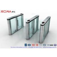 China Slim Speed Gate Turnstile , Access Management Automatic Swing Gates with consumption system wholesale