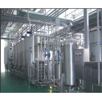SUS304 Stainless Steel Soft Drink Production Line For Yoghurt Milk 5000 L/H