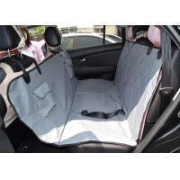 China Non Slip Protective Pet Car Seat Covers Travel With Seat Anchors , Heat Straps wholesale
