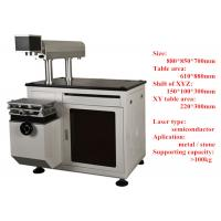 China Optical Fiber Laser Marking Machine for Jeans or Cloth , High Speed on sale