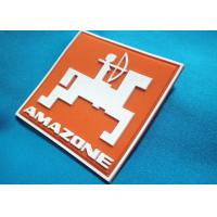 Silicone Material  Pvc Cloth Label , Custom Design PVC Rubber Patch 3D Silicone Care Label Manufactures
