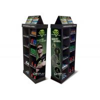 China Car Care Products Cardboard Display Shelves Point Of Purchase Stand wholesale
