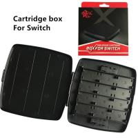 China 28 in 1 Memory Card Box Storage for Nintendo Switch Black color with gift box wholesale