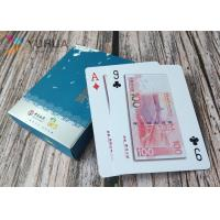 China Custom plastic playing cards 100% 0.32mm PVC poker cards with glod stamp wholesale