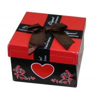 China Fashion Custom Paper Keepsake Gift Boxes For Promotional With Ribbon Butterfly Bow wholesale