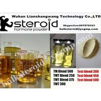 China Anabolic Mixed Blend Steroid injection Oil Test blend 300 TMT Blend 450/500 Yellow liquid for  for Muscle Gain wholesale