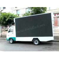 China Commercial Mobile Led Display Screen , Led Mobile Advertising Trucks 10 Pixel Pitch wholesale