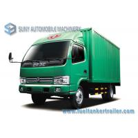 China LHD / RHD Refrigerated van Truck 4x2 Dongfeng small refrigerated trucks 95 Hp 3 T - 5 T wholesale