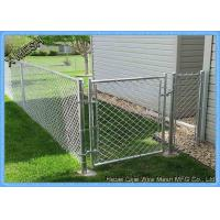 Quality Security Galvanized Chain Link Fence 3 Foot Diamond Wire Netting for sale
