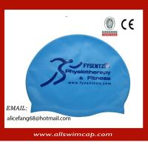 China 50gram popular adult silicone swimming cap wholesale