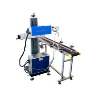 China PET Bottles CO2 Laser Marking Machine / Co2 Laser Equipment Air Cooling wholesale