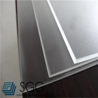 China photovoltaic tempered glass sheet 3.2mm Low Iron Mistlite Patterned Glass wholesale