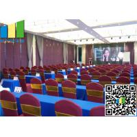 """Sound Proof 2 9/16"""" Operable Folding Partition Walls For Meeting Room Manufactures"""