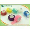 China Non Woven Elastic Cohesive Bandage For Finger , Self Adherent Bandage Wrap wholesale