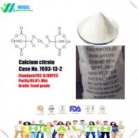 China Nature food additive Calcium citrate 813-94-5 chelating agent/slow granule/organization wholesale