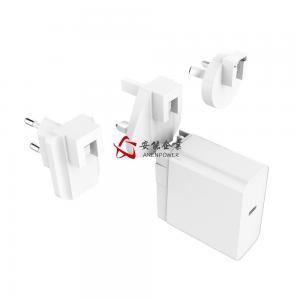 China UL FCC Ce Certified Removealbe AC Plug 65W 5V/3A, 9V/3A Pd Charger 12V/3A, 15V/3A, 20V/3.25A USB C Power Supply wholesale