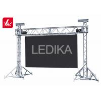 China Portable Aluminum Goal Post Banner Truss Tower System For Hanging Speaker wholesale